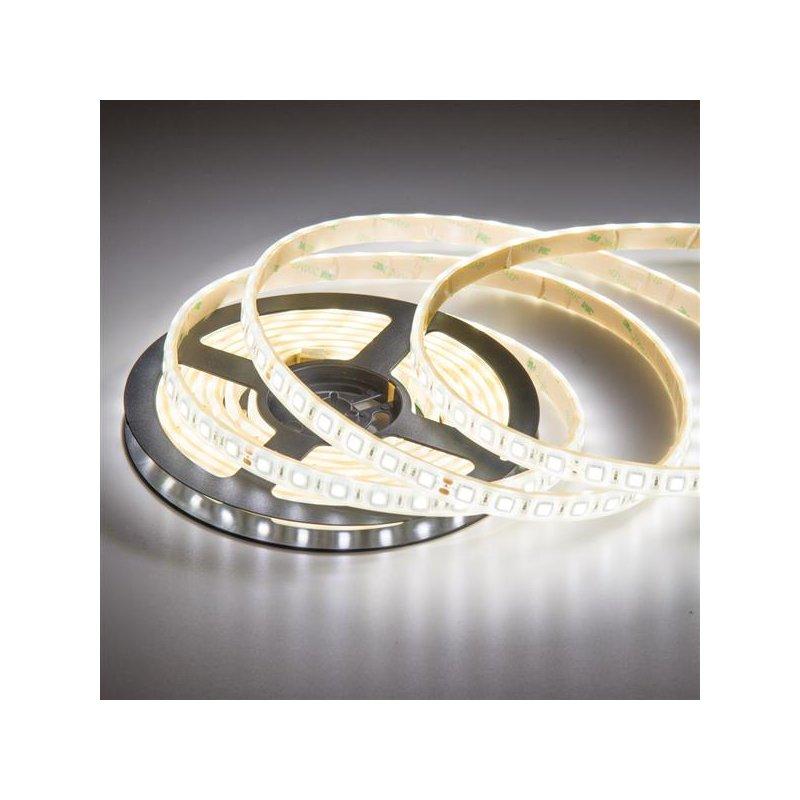high power led band flexibel 5m 24volt mit 300 smd led 5050 naturw. Black Bedroom Furniture Sets. Home Design Ideas