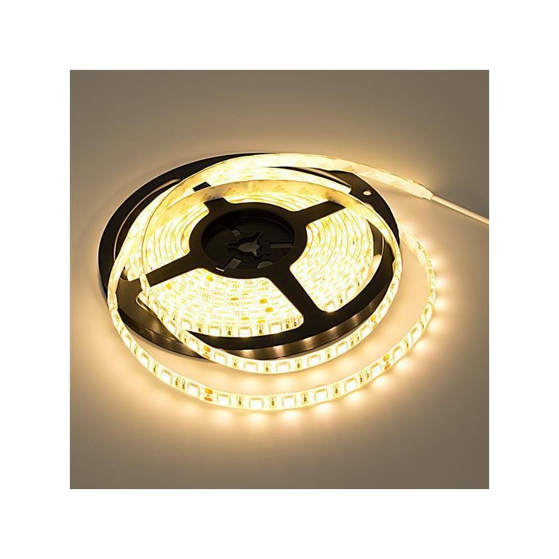 ip54 high power led band 10m 24volt mit 60 smd led pro meter 5050. Black Bedroom Furniture Sets. Home Design Ideas