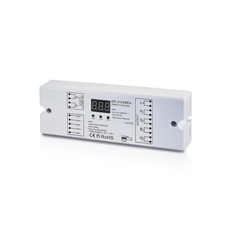 DMX512 Decoder / LED Dimmer SR-2102BEA, CHF 69.00
