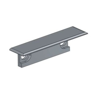 2x endkappe laminato aluminium inkl schrauben chf. Black Bedroom Furniture Sets. Home Design Ideas