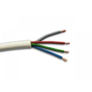 RGB Kabel, 4-adrig weiss, CHF 2.00